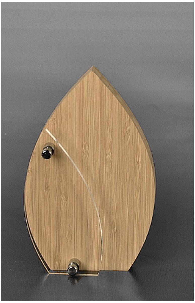 Acrylglaspokal bamboo 1 for Glaspokale mit gravur